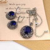 Montana brasileño Rhinestone Crystal Earring Set de joyas de moda retro