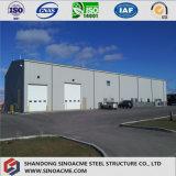 Entrepôt structural en acier préfabriqué personnalisé par OEM pour les pays africains