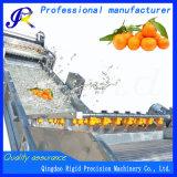 オレンジの洗濯機のフルーツの洗濯機