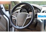 DIY Auto-Lenkrad-Deckel-Lenkstange-Flechte 38cm weiches ledernes Steuerung-Allgemeinhinrad mit dem Nadel-und Gewinde-Auto-Anreden