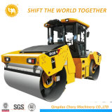 중국 18 톤 도로 쓰레기 압축 분쇄기 공장 두 배 드럼 도로 쓰레기 압축 분쇄기