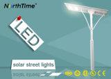3 년 보장 100W LED 옥외 점화 Ce/RoHS/ISO/IP65를 가진 태양 가로등