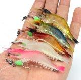 crevette molle de pêche de lueur de crevette de crevette de 5.2cm