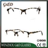 Oogglas Eyewear van het Frame van het Schouwspel van de Acetaat van het Nieuwe Product van de Stijl van de mannequin het Optische