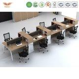 Einfache Büro-Partition/Arbeitsplatz/Standardgrößen der Arbeitsplatz-Möbel