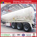 Réservoir de poudre de ciment en vrac camion citerne pour la vente de remorque