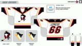 Hokey di ghiaccio americano personalizzato dei pinguini 1999-2001 di Wilkes-Barrescranton della Lega di Hockey dei capretti delle donne degli uomini Jersey