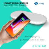 carga 5With7.5W sem fio móvel com área cobrando larga para o iPhone 8/8 de Plus/X