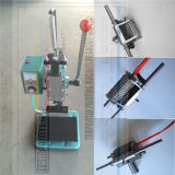 Manual de pequena superfície Gofragem máquina com o Molde