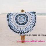 高品質のビーチタオルのあたりで印刷される最上質の綿