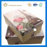 관례에 의하여 인쇄되는 Handmaded 마분지 선물 상자 (Lid&Bottom 상자)