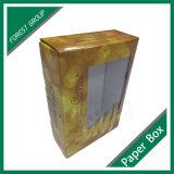 Плоская упаковывая коробка плодоовощ с окном PVC
