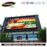 Indicador de diodo emissor de luz do anúncio ao ar livre de brilho elevado HD P10 SMD