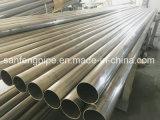 Decoração do preço de China boa que solda a tubulação dos trilhos do aço inoxidável