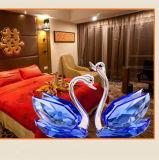 Decoratie van de Gift of van het Huis van het Kristal van de Zwaan van het Glas van het Kristal van de Gift van het huwelijk de In het groot