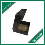 Caixa de embalagem ondulada lustrosa preta da câmera (FP6073)