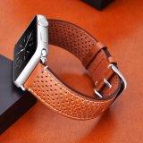 38/42мм Luxury натуральная кожа ремешок для просмотра для просмотра Apple Apple Iwatch диапазона