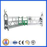 Plate-forme électrique suspendue provisoire en aluminium d'élévateur de gondole d'accès