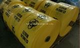 Желтый мешок отхода клиники LDPE пластмассы в упаковывать распределителя
