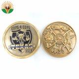 安い価格の金属の旧式な硬貨をカスタマイズしなさい