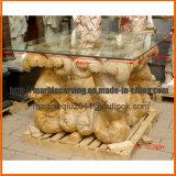 Pierre de granit blanc la table de jardin MT1705