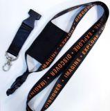 Custom оптовой черно-белая печать строп держатели телефона