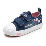Новые продажи детей моды Canvas обувь для девочек