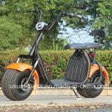 Мощный зеленый электрическийвелосипед с 01- 60V 1500 Вт Бесщеточный двигатель