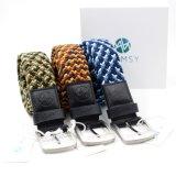 Cinghie elastiche di Web degli uomini del cinturino del tessuto colorate abitudine per la corsa esterna