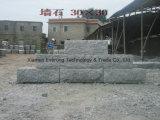 La pared de granito gris natural bloques de piedra para la pared exterior