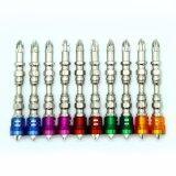 10ПК серебристый цвет отверткой с помощью магнитного удержания