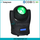 DMX 60W RGBW LEDのビーム小型移動ヘッド段階のスポットライト