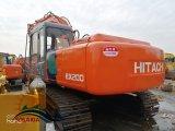 Máquina de Construção do Japão original usado Escavadeira Hitachi Ex200 Rastreados Coveiro