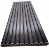Tubo redondo 23*2000m m de la fibra de alta resistencia del carbón