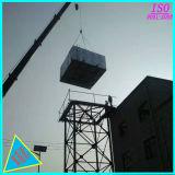 SMC FRP GRP панели вид в разрезе резервуар для хранения воды с помощью стальной башни