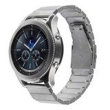El lujo de acero inoxidable de plata de la banda de enlace de la marcha para Samsung S3