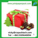 Rouge boîte cadeau délicat avec Bowknot boîte à bijoux Emballage