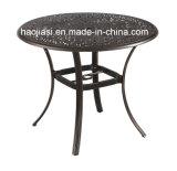 Patio extérieur / jardin //&/ en rotin en aluminium moulé6105DT-2 TABLE HS