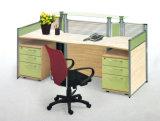 내각 (OD-56)를 가진 2개의 시트 사무실 워크 스테이션