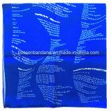 Продукция OEM фабрики Китая подгоняла шарф Paisley черноты хлопка печати конструкции