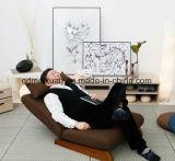 Singolo riso piegante pigro dello strato dello strato dello strato della camera da letto del balcone della stanza di seduta del sofà di arte del panno del sofà (M-X3338)