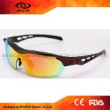 Polycarbon, das Sun-Gläser komprimiert, polarisierte Schutzbrillen Eyewear der im Freiensport-Waren-Fahrrad-Glas-Fahrrad-Sonnenbrille-Tr90