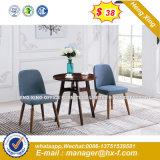 Presidenza di base metallica del sofà di svago del tessuto della mobilia elegante del salone (HX-SN8037)