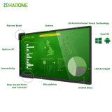 Ultra à panneau plat interactif d'écran de visualisation de contact d'affichage à cristaux liquides de HD DEL