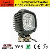 Venda quente 48W 5'' PI68 EMC Offroad levou a Luz de Trabalho