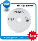 4,7Gb disco virgem DVD-R 16X 8x para DVD por grosso
