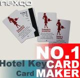 관리를 위한 저가 PVC에 의하여 인쇄되는 호텔 RFID 키 카드