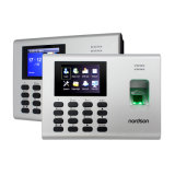 セルフサービスのReprotアクセス制御の組み込み電池RFIDのカードの指紋の時間出席