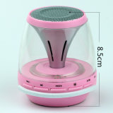 Promotion Gift를 위한 Colorfull Night Light Wireless Speaker HiFi Bass Sound Music Box Subwoofer Outdoor