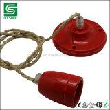 E27/E14型の磁器陶磁器ランプのホールダーの電球ホルダー